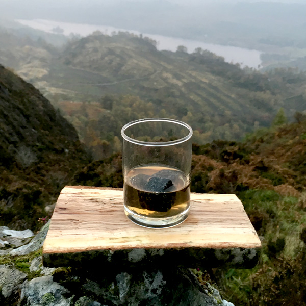 The idea for Scottish whisky stones was born in the surrounds of the lochs and mountains of the Loch Lomond and The Trossachs National Park