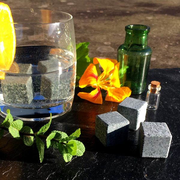 Our gently cooling hand-carved gin stones are the perfect accompaniment to any gin drink or cocktail - a unique and beautiful alternative to traditional ice